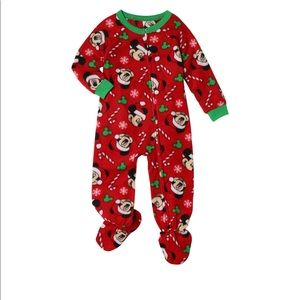 Mickey Mouse Christmas Holiday Baby Toddler Boy